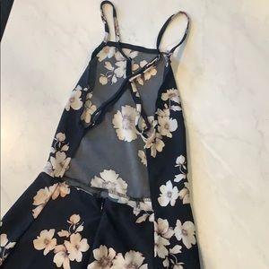 Brandy Melville black floral dress